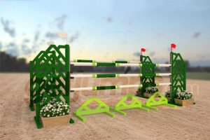 evergreen - green aluminum jumper jump
