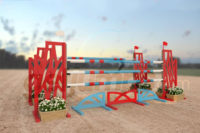 scalene - red and blue aluminum jumper jump